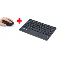 MOUSE BLUETOOTH + TECLADO BLUETOOTH, RECARGABLES