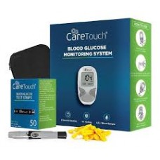 Glucometro Care Touch + 50 Tiras + 130 Lancetas